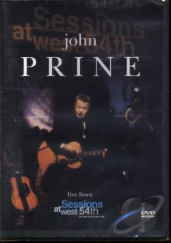 John Prine Live From Sessions At West 54th DVD Cover Art