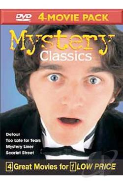 Mystery Classics Volume 11 - 4-Movie Pack DVD Cover Art