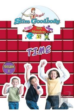 Slim Goodbody's Math Monsters, Vol. 08: Time Program DVD Cover Art