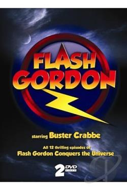 Flash Gordon 2DVD DVD Cover Art