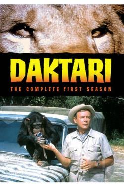 Daktari - The Complete First Season DVD Cover Art