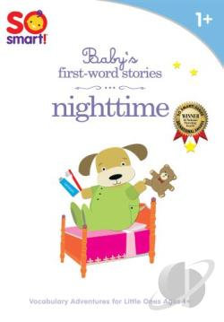 So Smart!: Baby's First-Word Stories - Nighttime DVD Cover Art