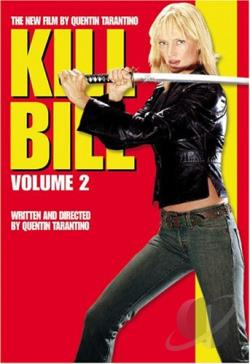 Kill Bill Vol. 2 DVD Cover Art