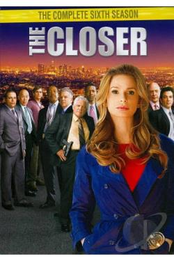 Closer - The Complete Sixth Season DVD Cover Art