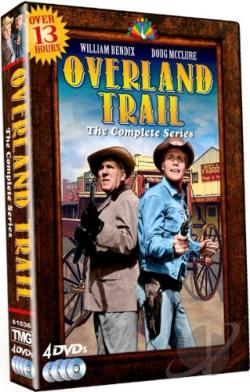 Overland Trail - The Complete Series DVD Cover Art