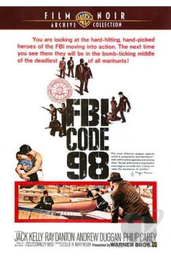 FBI Code 98 DVD Cover Art