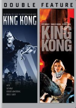King Kong (1933)/King Kong (1976) DVD Cover Art