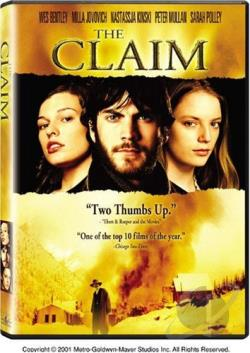 Claim DVD Cover Art