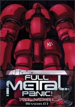 Full Metal Panic! - Mission 3 DVD Cover Art