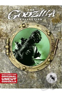 Godzilla Collection DVD Cover Art