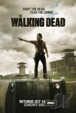 Walking Dead - The Complete Third Season DVD Cover Art