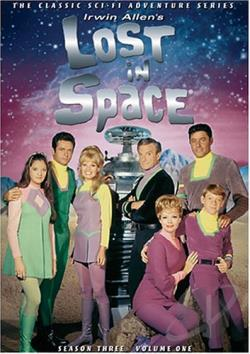 Lost in Space - Season 3: Vol. 1 DVD Cover Art
