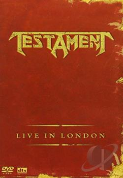 Testament - Live in London DVD Cover Art