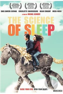 Science Of Sleep DVD Cover Art
