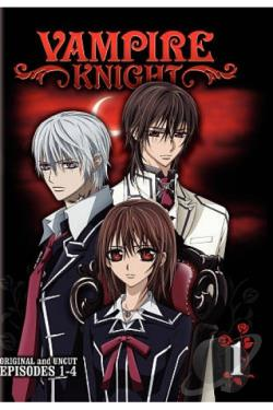 Vampire Knight, Vol. 1 DVD Cover Art