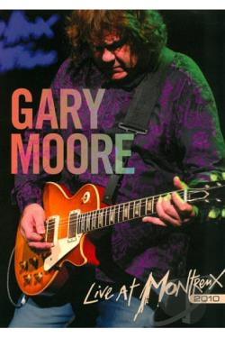 Gary Moore: Live at Montreux 2010 DVD Cover Art