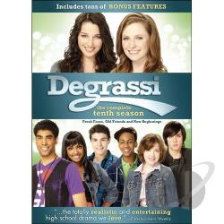 Degrassi - Complete Season 10 DVD Cover Art