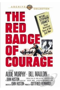 Red Badge of Courage DVD Cover Art