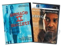 Menace II Society/ John Q - 2 Pack DVD Cover Art