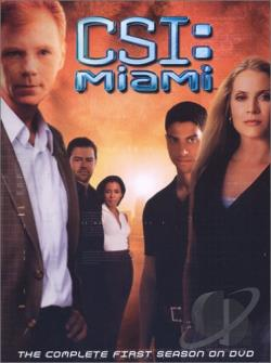 CSI - Miami - The Complete First Season DVD Cover Art