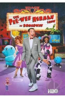 Pee-Wee Herman Show on Broadway DVD Cover Art