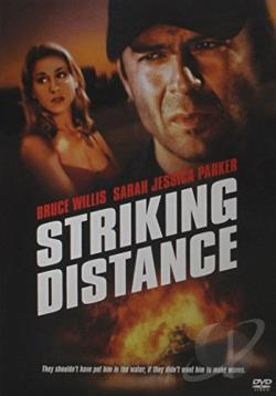 Striking Distance DVD Cover Art