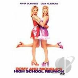 Romy and Michele's High School Reunion DVD Cover Art