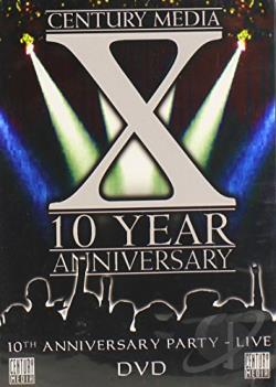 Century Media: X - 10 Year Anniversary DVD Cover Art