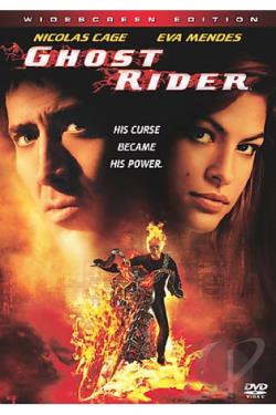 Ghost Rider DVD Cover Art