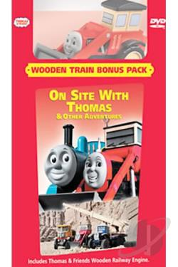 Thomas & Friends - On Site With Thomas DVD Cover Art