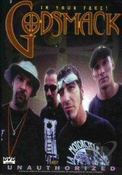 Godsmack - Unauthorized Biography DVD Cover Art