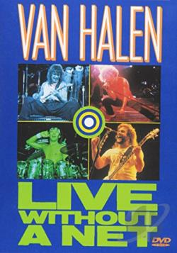 Van Halen - Live Without a Net DVD Cover Art