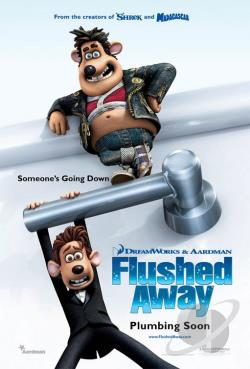 Flushed Away DVD Cover Art