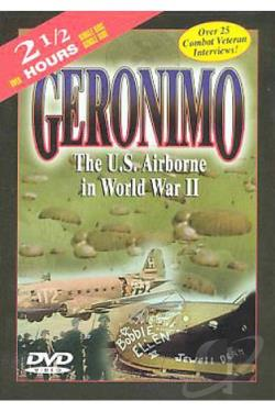 Geronimo - The U.S. Airborne in WWII DVD Cover Art