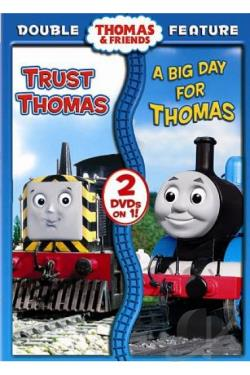 Thomas & Friends - Trust Thomas/A Big Day For Thomas DVD Cover Art