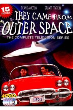 They Came from Outer Space - The Complete Television Series DVD Cover Art