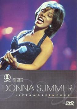 Donna Summer - VH-1 Presents Donna Summer Live & More ... Encore! DVD Cover Art