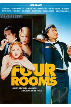 Four Rooms DVD Cover Art