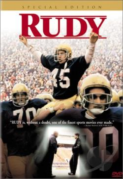 Rudy DVD Cover Art