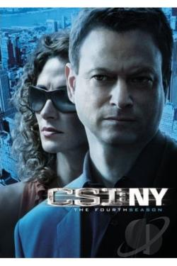 CSI - New York - The Complete Fourth Season DVD Cover Art