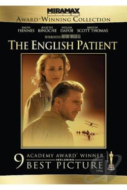 English Patient DVD Cover Art