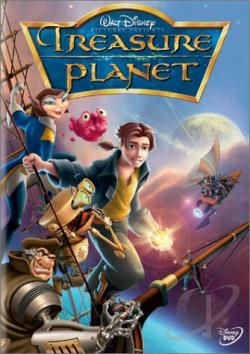 Treasure Planet DVD Cover Art