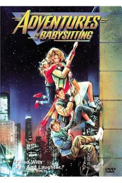 Adventures in Babysitting DVD Cover Art