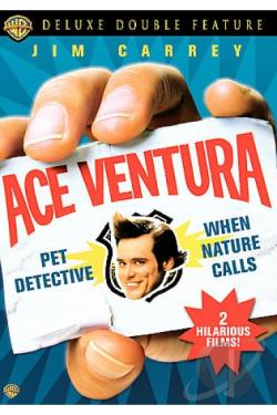 Ace Ventura Deluxe Double Feature DVD Cover Art