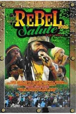 Rebel Salute 2006 - Part 2 DVD Cover Art