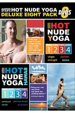 Hot Nude Yoga: The Complete Yoga Series DVD Cover Art