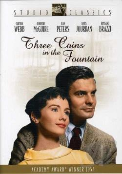 Three Coins in the Fountain DVD Cover Art