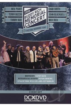 Buddy Rich Memorial Concert 2008 DVD Cover Art
