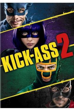 Kick-Ass 2 DVD Cover Art