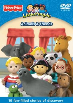 Fisher-Price Little People: Animals & Friends DVD Cover Art
